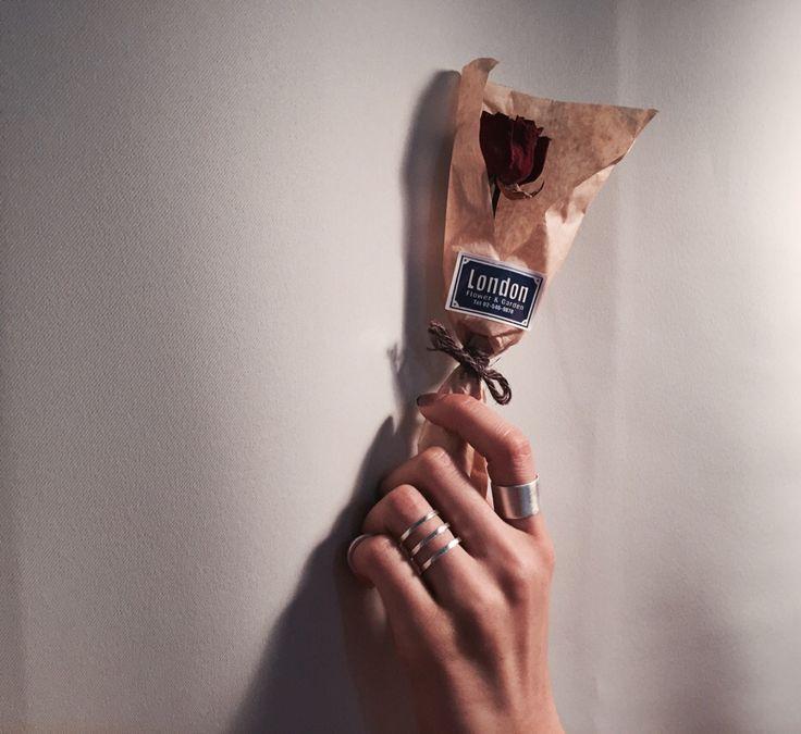 #handmade #ring #london #flower