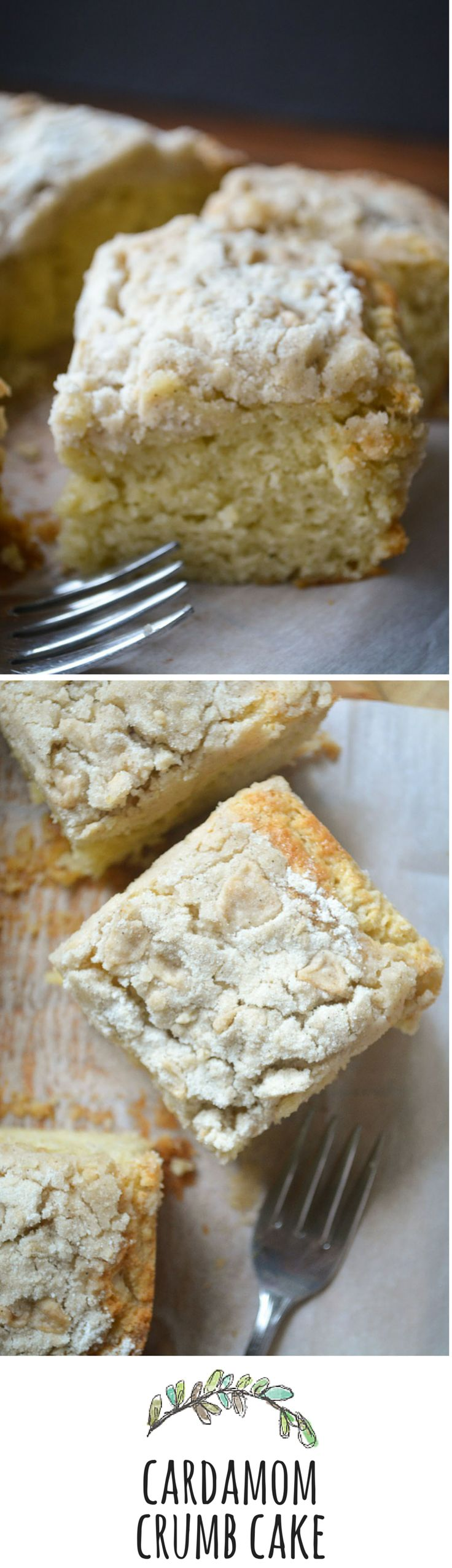 Classic New York style crumb cake with a twist!