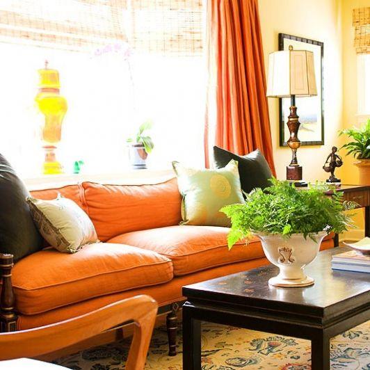 Living Room Ideas Orange Sofa best 10+ orange sofa design ideas on pinterest | orange sofa