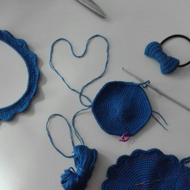 Quanti oggetti diversi nascono da un gomitolo blu...