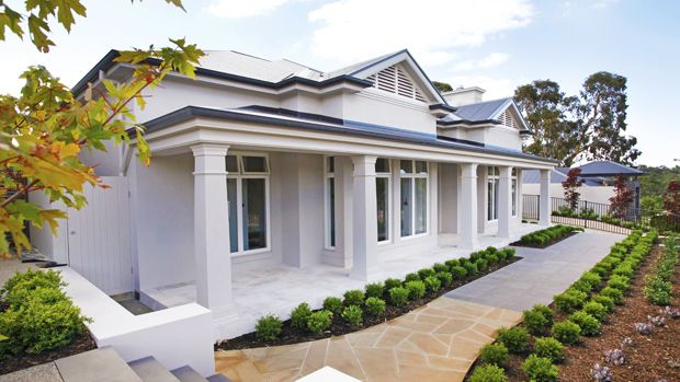 Front Elevation Of Houses In Australia : Front elevation facade home exterior pinterest