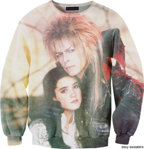 labyrinth sweater my did i love bowie in that movie