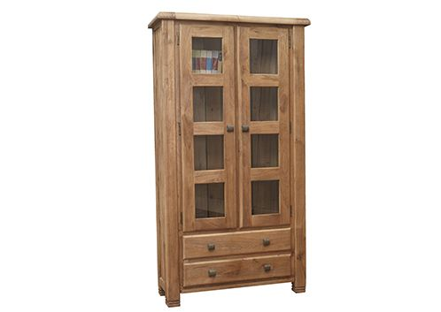 Danube, display cabinet, oak