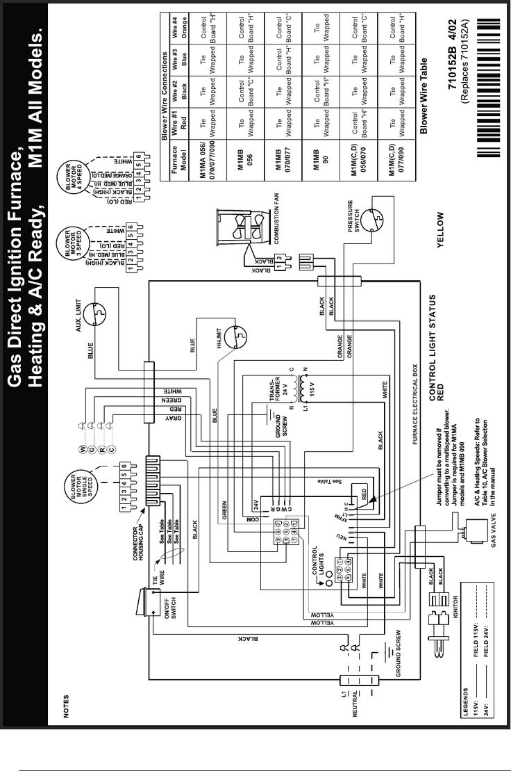 newmac furnace wiring diagram