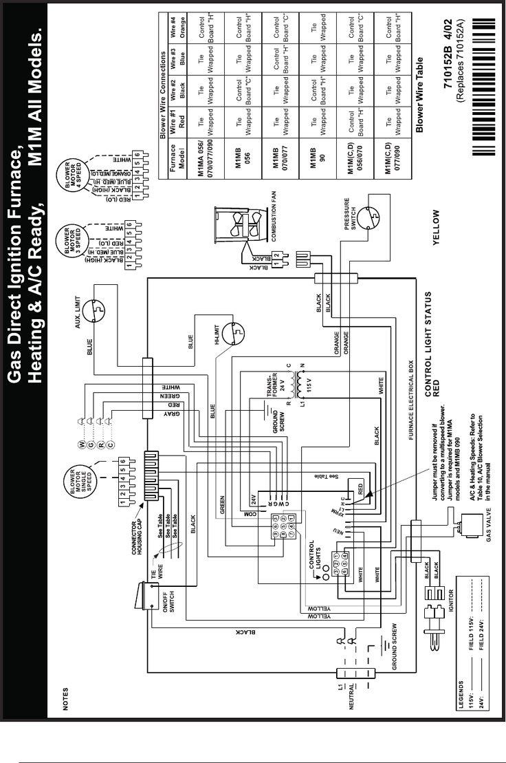 newmac furnace wiring diagram