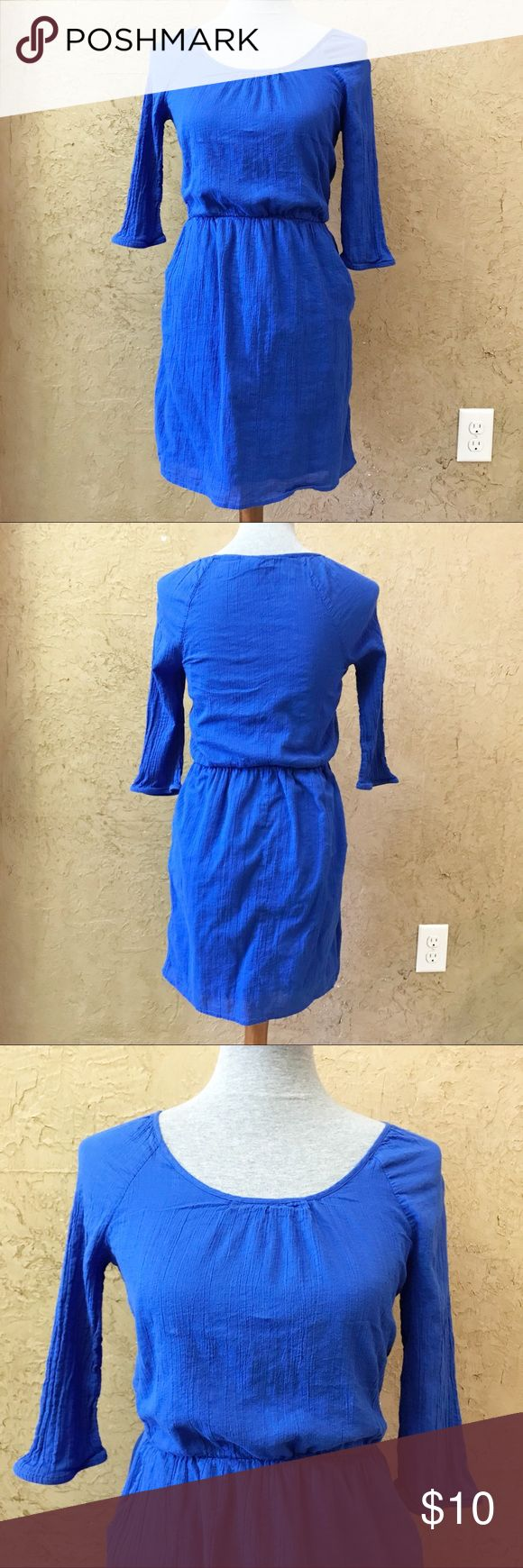 ❤️ Old Navy Mini Dress Used. Good condition. No stains, rips or holes. Side pockets.  *** Items marked with ❤️ --- are 5 for $20! Make an offer for $20 and I will accept.  📍SHIPS Monday to Friday 📍Pet-Free Home 📍Smoke-Free Home Old Navy Dresses Mini