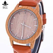 La moda de Nueva Marca Vestido de Las Señoras Reloj de Lujo de Imitación De Madera Mujeres Relojes Vintage Retro de Cuero del Cuarzo Reloj de Pulsera Horas(China (Mainland))