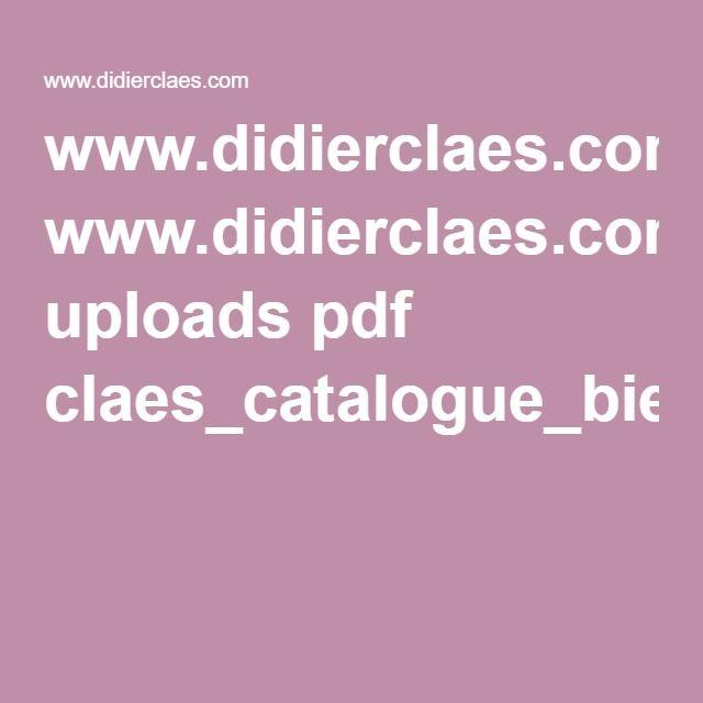 www.didierclaes.com uploads pdf claes_catalogue_biennale2012_BD.pdf