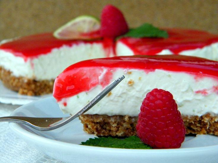 Cheesecake Lime Lamponi, La Barbacucina