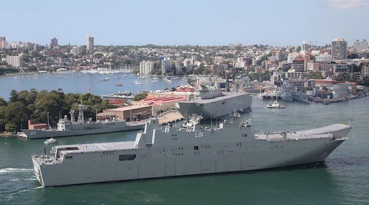 FDRA - Fuerza Naval: Barcos españoles de Australia tienen defectos de diseño