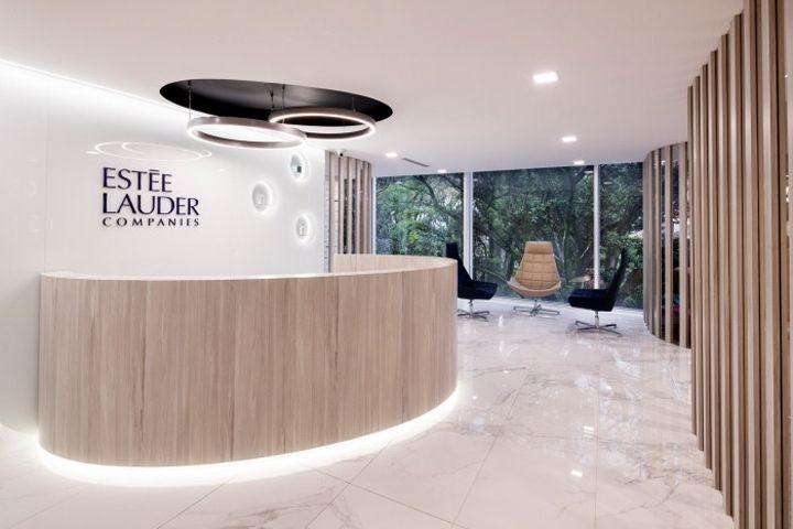 Esteé Lauder Office by AEI Arquitectura e Interiores Bogotá  Colombia