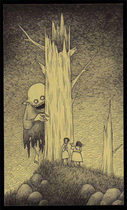 John vous emmène dans ses étranges cauchemars d'enfance qu'il dessine sur des Post-it | Daily Geek Show