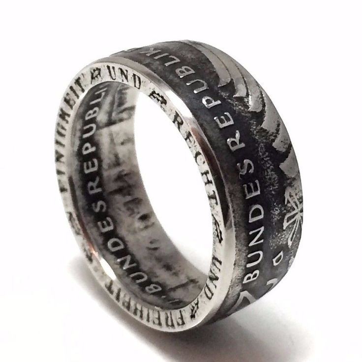 Germany Coin Ring German 2 Marks Deutsch Rings from