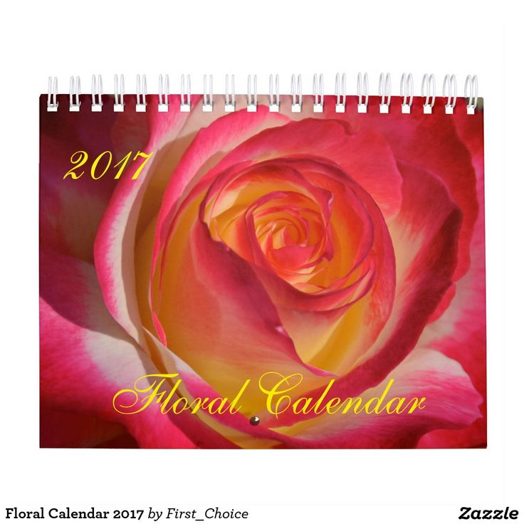 Floral Calendar 2017