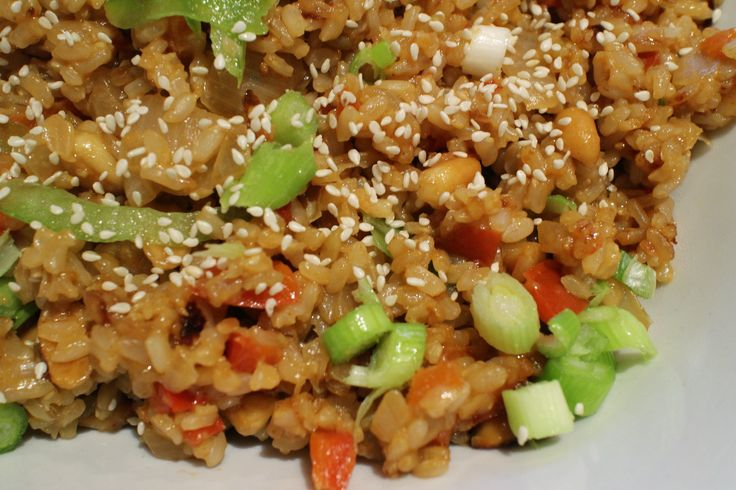 Asian Peanut Stirfry - Revive Cafe DELICIOUS!