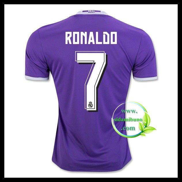 Fotballdrakter FC Real Madrid RONALDO #7 Bortedraktsett 2016-2017