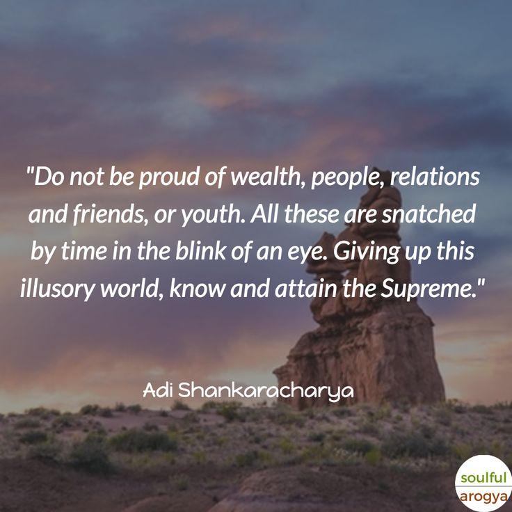 10 Great Adi Shankaracharya Quotes - Quote 8