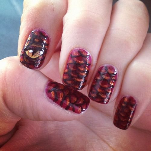Hobbit nails | Tumblr