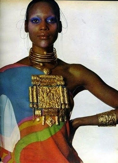 Naomi Sims for Vogue, 1971. - Vintage - Timeless Chic