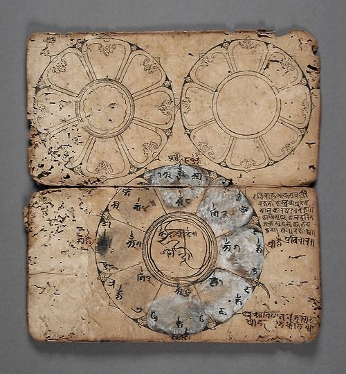 x x x ~ `Book of Rituals and Mandalas Nepal, 1550-1600(via LACMA Collections)    ]]>'
