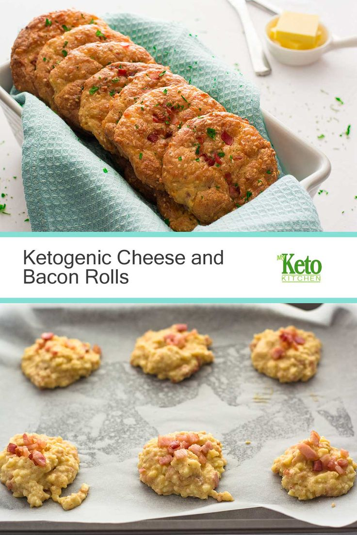 These Ketogenic Cheese and Bacon Rolls are delicious and won't throw you out of Ketosis! Straight from the oven, or warmed in the toaster,…