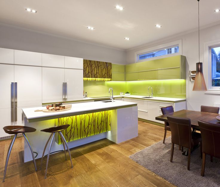 Modern Natural Kitchen Island Kitchen Island