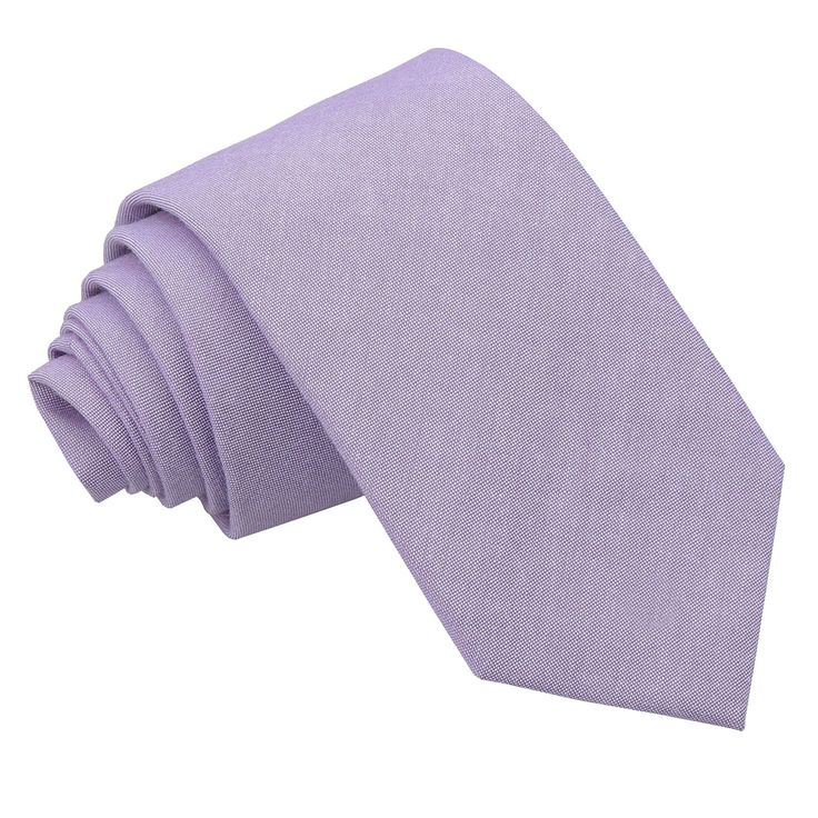 Not silk but very happy to look at other fabrics   JA Chambray Cotton Lilac Slim Tie
