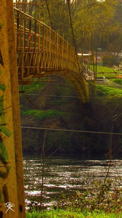"""Suspended Bridge"". By REG."