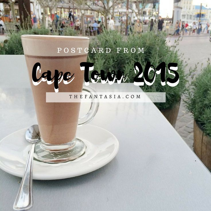 "Have you ever want to go to Cape Town South Africa? I was so inspired to see more of the city, and people-watch when I got there because it's one of those understated ""things to do""!"
