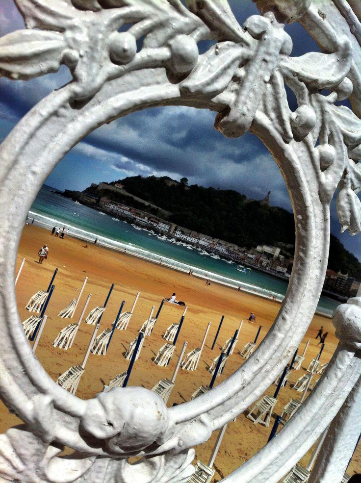 Places to visit - Basque Country, Gipuzkoa, Donostia-San Sebastian, La Concha Beach