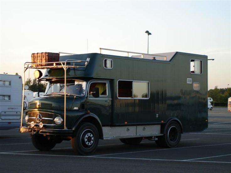 UK Hippy Mercedes CamperMercedes BenzExpedition TruckAdventure CampersTruck CamperVintage
