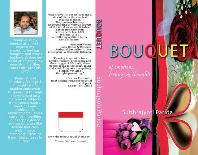 Bouquet - of emotions, feelings & thoughts.​ featuring on Hall of Poets (http://www.hallofpoets.com) e-magazine ..Check it out :)