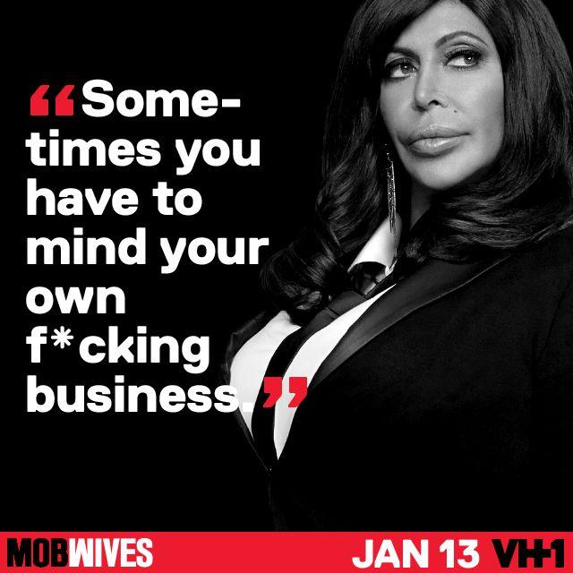 Ang wisdom #MobWives love Big Ang Rip huni