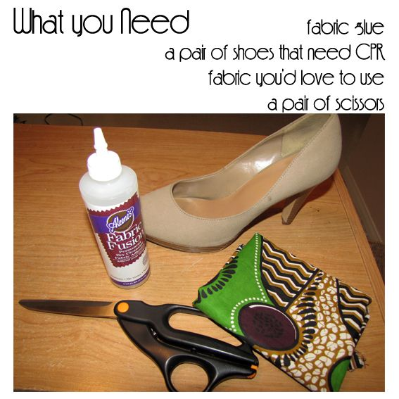 CIAAFRIQUE ™   AFRICAN FASHION-BEAUTY-STYLE: D.I.Y : How to make your own African print shoes ?
