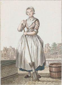 Colored engraving by Paulus Constantijn la Fargue c1775 Rijsmuseum, The Netherlands