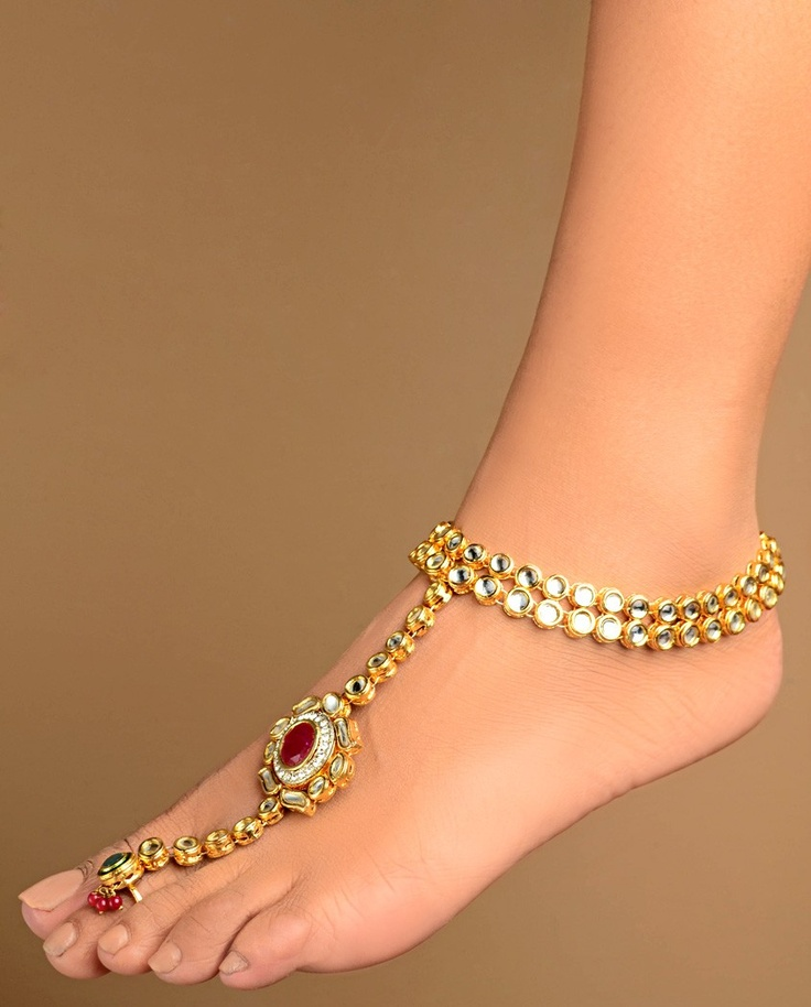 chunky anklet ankles sma link sexy yellow for bracelet ankle big gold anklets chain