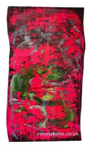 Irène Laksine acrylic on polyester.  #art #abstract #painting #modernart #artworks #modern