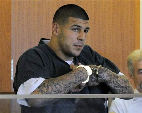 Warrant links Hernandez to 2012 Boston shooting - A search warrant indicates that police think former New England Patriot Aaron Hernandez was inside an SUV that carried out an unsolved drive-by shooting in Boston that killed two people in 2012. Read more: http://www.norwichbulletin.com/article/20140108/NEWS/140109703 #AaronHernandez #Murder #Court #Trial