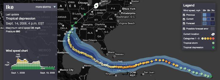 MSNBC Hurricane Tracker