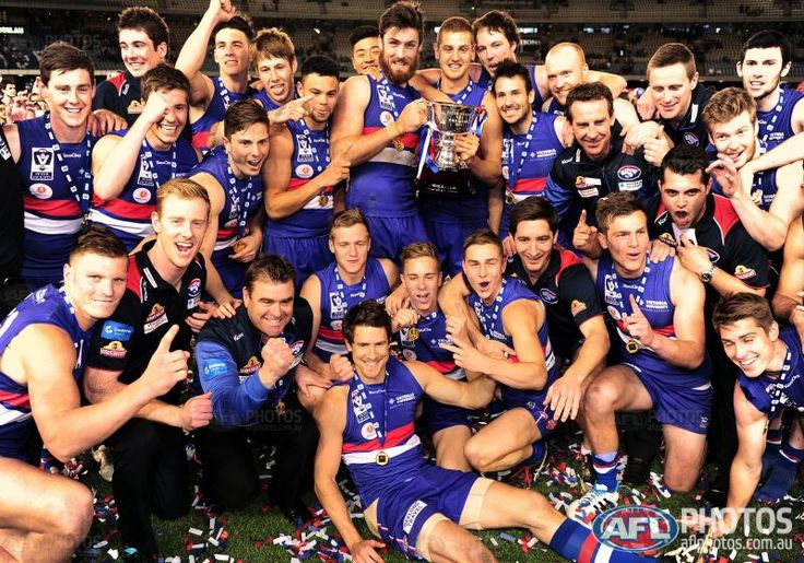 Footscray Bulldogs. 2014 VFL Premiers!