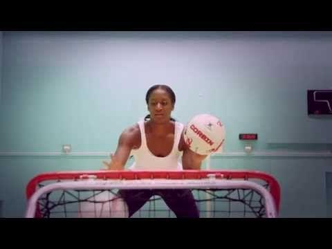 Sasha Corbin   Netball   Train INSANE or remain the same with Crazy Catch - YouTube