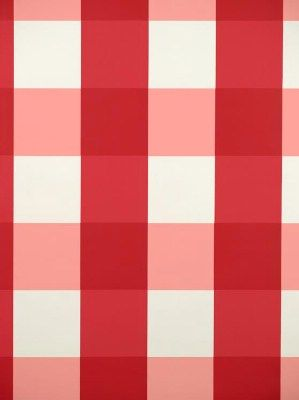 """Scala WP88203-002 - GertrudeS Plaid - Red Plaid - Wallpaper - Product ID: Scala WP88203-002 Manufacturer: Scalamandre Wallpaper Available Colors: Width: 27"""" Content: 100% Paper Horizontal Repeat: 9"""" Vertical Repeat: 8 1/2"""""""