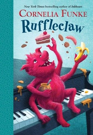 Ruffleclaw by Cornelia Funke | Early Readers Book Review | KidLit | Children's Books | Chapter Books | Monster Books