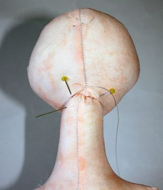 Doll Head Attachment,   Zelodius Morton via Marilyn Tenias onto doll and toy tutorial