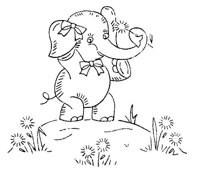 117 best EMBROIDERY ELEPHANT'S images on Pinterest