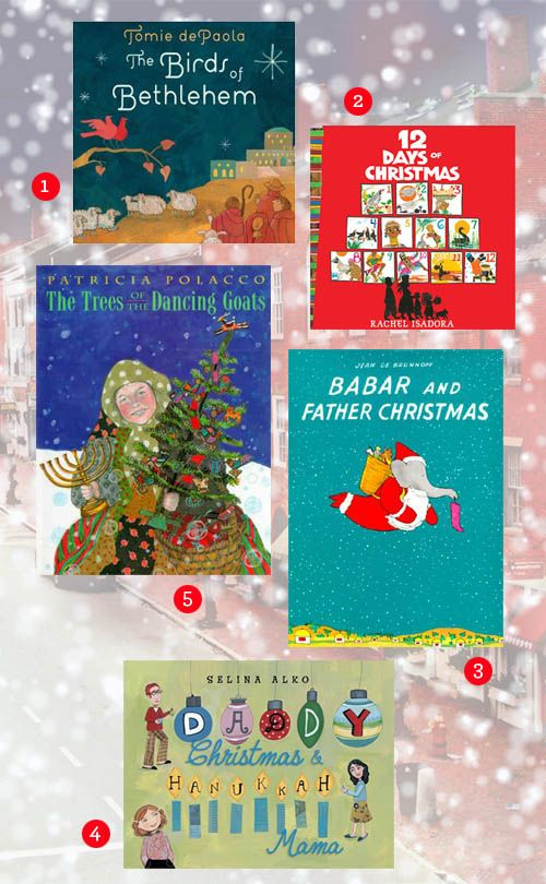 10 great holiday books!: Ribbons Bows, Kids Christmas Books, Christmas Pictures, Kids Books, Pictures Books, Great Books, Children Books, Holidays Books, Books For Kids