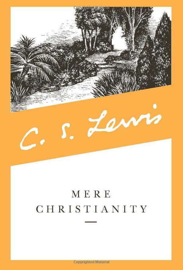 Mere Christianity: C. S. Lewis,  besides the Bible - thiis has given more help than any other book. a true gem