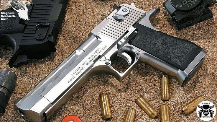 Manufacturer: Magnum Research Mod. D50 Type - Tipo: Pistol Caliber - Calibre: 50 Action Express Capacity - Capacidade: 7 Shot Barrel length - Comp.Cano: 6 Weight - Peso: 4...
