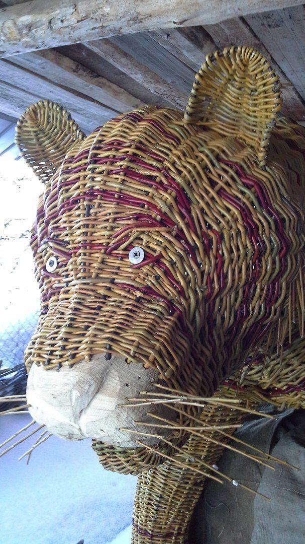 Лозоплетение: плетение корзин из ивовой лозы!