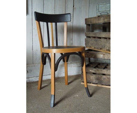 Chaise Bistrot Baumann Selency Chaise Bistrot Chaises En Bois Peintes Customiser Chaise